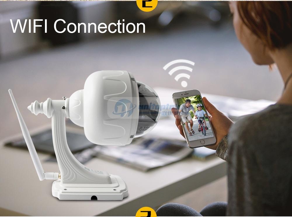 03 PTZ IP Dome Camera