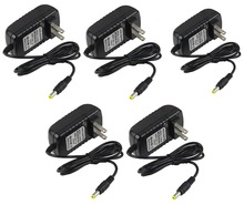 STARAUDIO 5Pcs AC Adapters 12V 2A DC Power Supply Cord For JBJ Current USA Aquarium LED Light Microphone SP-1202USA(China)