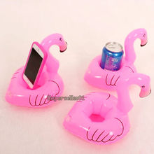 1Pcs Unisex High Quality Mini Cute Outdoor Animal Floating Inflatable Drink Can Holder Swimming Pool Beach Party Kids Toy(China)