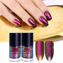 BORN PRETTY 9ml Chameleon Nail Polish Green Purple Lyphard Melody Violet Galaxy Sequins Nail Lacquer Varnish Nail Polish