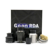 High quality clone GOON RDA 528 24mm Rebuildable Dripping Atomizer Adjustable Airflow can fit box mod Mechanical Mod goon 528