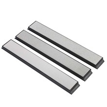 240#/600#/1000# Grit Professional Fixed Angle Diamond Home Kitchen Tool Knife Sharpener Sharpening Stone Tool(China)