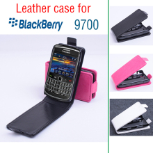 For Blackberry 9700 Case, New High Quality Genuine Filp Leather Cover Case For Blackberry9700 case Free Shipping(China)