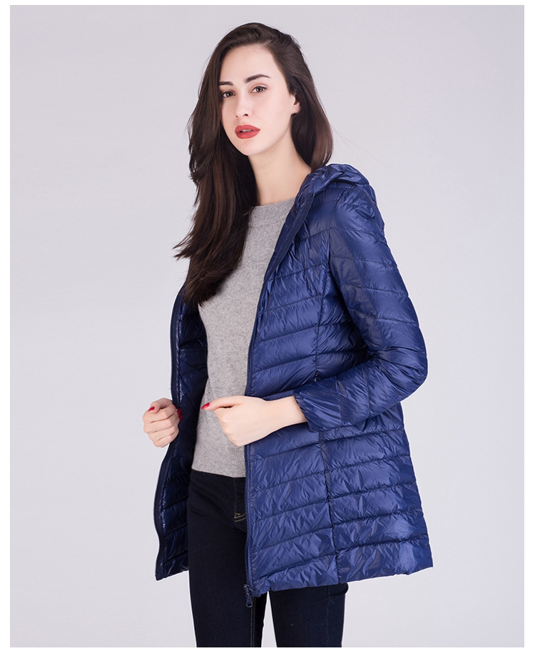 chaqueta pluma mujer
