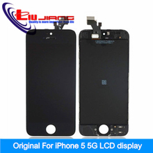 Liujiang Original quality for iPhone 5 5G LCD Display Touch Screen Digitizer Assembly + Tools +Glass film