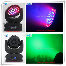 (12/lot)Stage wash lights led 36x15 5in1 zoom led moving head wash copy robe robin 600