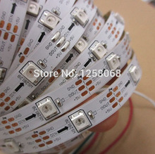 30 LEDs Pixel WS2812B ws2812 2812 WS2811 ic LED Strip Light SMD 5050 RGB Digital White PCB Non-Waterproof DC 5V 30m/lot(China)