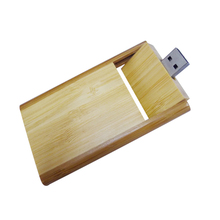 Eco-friendly wood Customized logo Personalized Credit card china supplier usb pen drive 8gb
