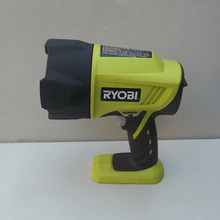 (used) Liang Ming / Ryobi 18V lithium rechargeable flashlight / torch remote strong yellow light with a 1.5A battery