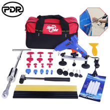 PDR Tools Dent Puller Kit Tool To Remove Dents Auto Repair Tool Car Body Repair Kit Dent Removal Slide Hammer Pulling Bridge(China)