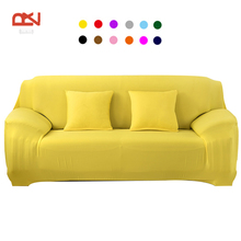 case for sofa colorful universal soild modern design Stretchable furniture covers couch elastic sofa cover
