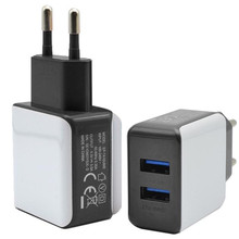 Reliable 3A 2 Ports EU Plug USB Wall Travel AC Charger Adapter For Samsung Galaxy For iPhone