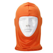 Hot Marketing  New Classic Lycra Ski Face Mask Bike Bicycle CS Sports Football Balaclava Helmet  Orange Jun21 Drop Shipping