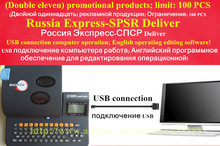 Cable ID printer electronic lettering machine tube printer S700E Russia double eleven promotional USB computer connection
