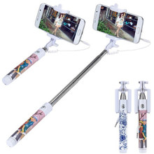 Factory Price Hot Selling Handheld Selfie Stick Monopod Camera for For Samsung Galaxy S8 Drop Shipping Top Quality