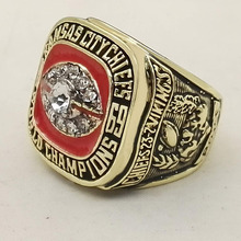 Who Can Beat Our Rings, High Quality Super Bowl 1969 Kansas City Chiefs Replica Men World Championship Ring(China)