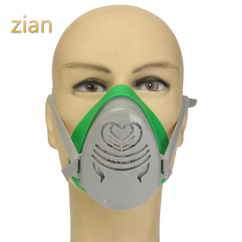 Cheap Price N3800 Anti-dust Facepiece Filter Paint Spraying Cartridge Respirator Gas Mask A Great Variety Of Models Fire Respirators
