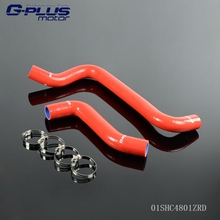 Silicone Radiator Hose Fit For 01-05 DODGE NEON SRT-4 SRT4 2.4L(China)