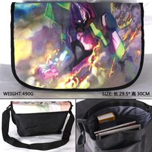 Anime EVA Neon Genesis Evangelion Waterproof Aslant/Crossbody/Messenger/School/Shoulder Bag/Satchel(China)