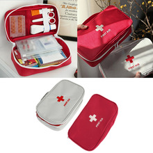 2016 Top Multifunctional emergency bag pouch outdoor Portable Handheld Medical Bag First Aid kit Pattern Medicine Organizer Bag