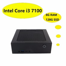 Excellent Mini Desktop PC With Intel i3 7100 Max 3.9GHz ,8G DDR4 RAM 128G SSD!  3-Year Warranty, HD Graphics 630