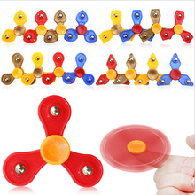 Buy Fidget Spinner Finger ABS EDC Hand Spinner Tri Kids Autism ADHD 16 Styles Anxiety Stress Relief Focus Handspinner Toys Gift for $1.11 in AliExpress store