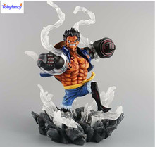Tobyfancy One Piece Action Figure SC Monkey D Luffy Gear 4 Figure Anime PVC Onepiece Collection Model Toy