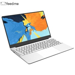 Ноутбук с 15,6-дюймовым дисплеем, ОЗУ 8 ГБ, ПЗУ 128/256/512 ГБ, Intel Celeron J3455