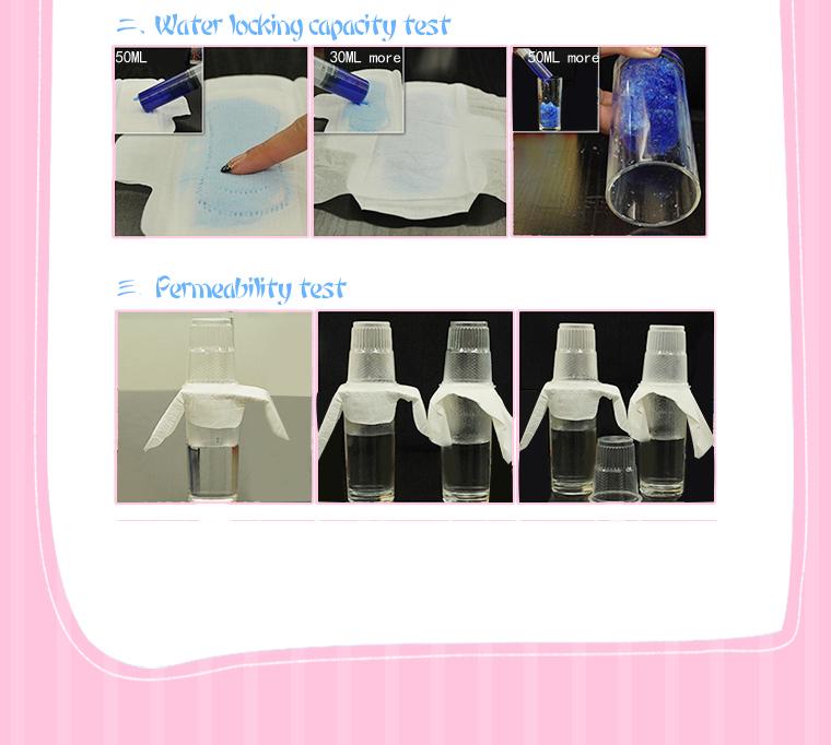 Korea 6pcs AEJISU organic cotton heavy flow over Night Sanitary Napkins pad 3mm feminine hygiene products menstrual towel pads 18