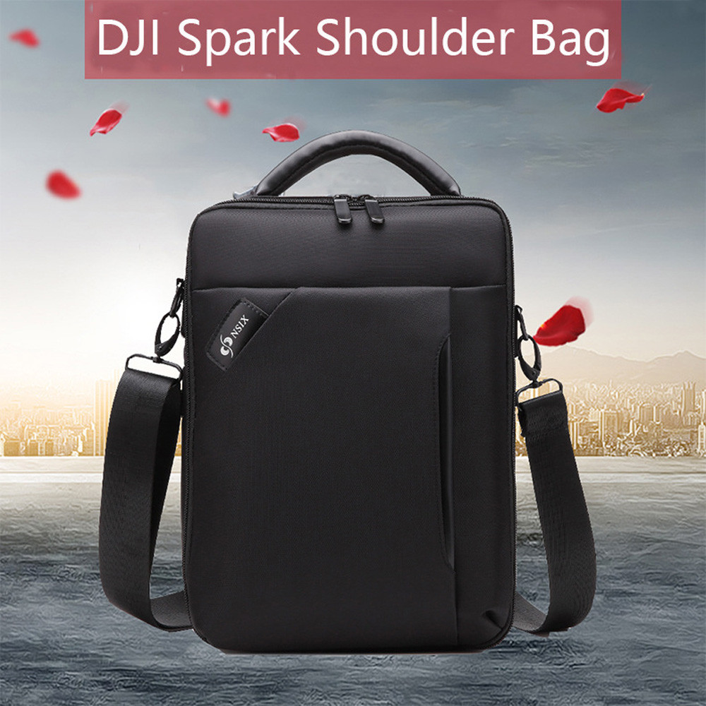 Waterproof Portable Shoulder Bag Storage Box Case Bacpack For DJI Spark Drone Futural Digital jiu7