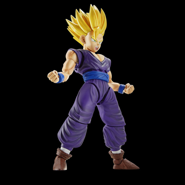 Dragon Ball Z Original BANDAI Figure-rise Standard Assembly Action Figure - Super Saiyan 2 Son Gohan Plastic Model<br>