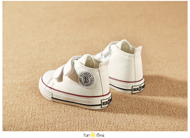 Baby shoes Girl Children Canvas shoes Boys 17 Spring Autumn Fashion High Cotton-made Baby girl little kids shoes 16