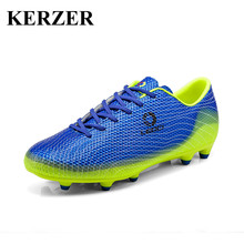 Hot 2017 New Kids Mens Soccer Cleats Long Spikes Football Trainers Outdoor Soccer Cleat Boys Children Trainers For Kids Cheap