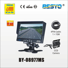 Heavy vehicle (trucks ,bus ,vans) reversing   rearview  HD  digital   monitor and camera systems  BY-08977MS