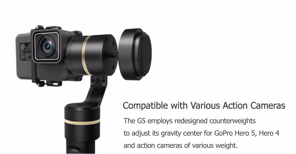 FeiyuTech Feiyu G5 Splash Proof waterproof 3-Axis Handheld Action Camera Gimbal For GoPro HERO 6 5 4 3 3+ Xiaomi yi 4k SJ AEE 3