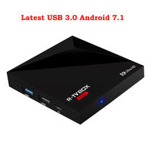 (Ship from US UK DE AU ES)XGODY MINI+ Smart TV Box Android 7.1 RK3328 Quad Core Wifi HD 4K KODI 16.1 TV Media player Android Box