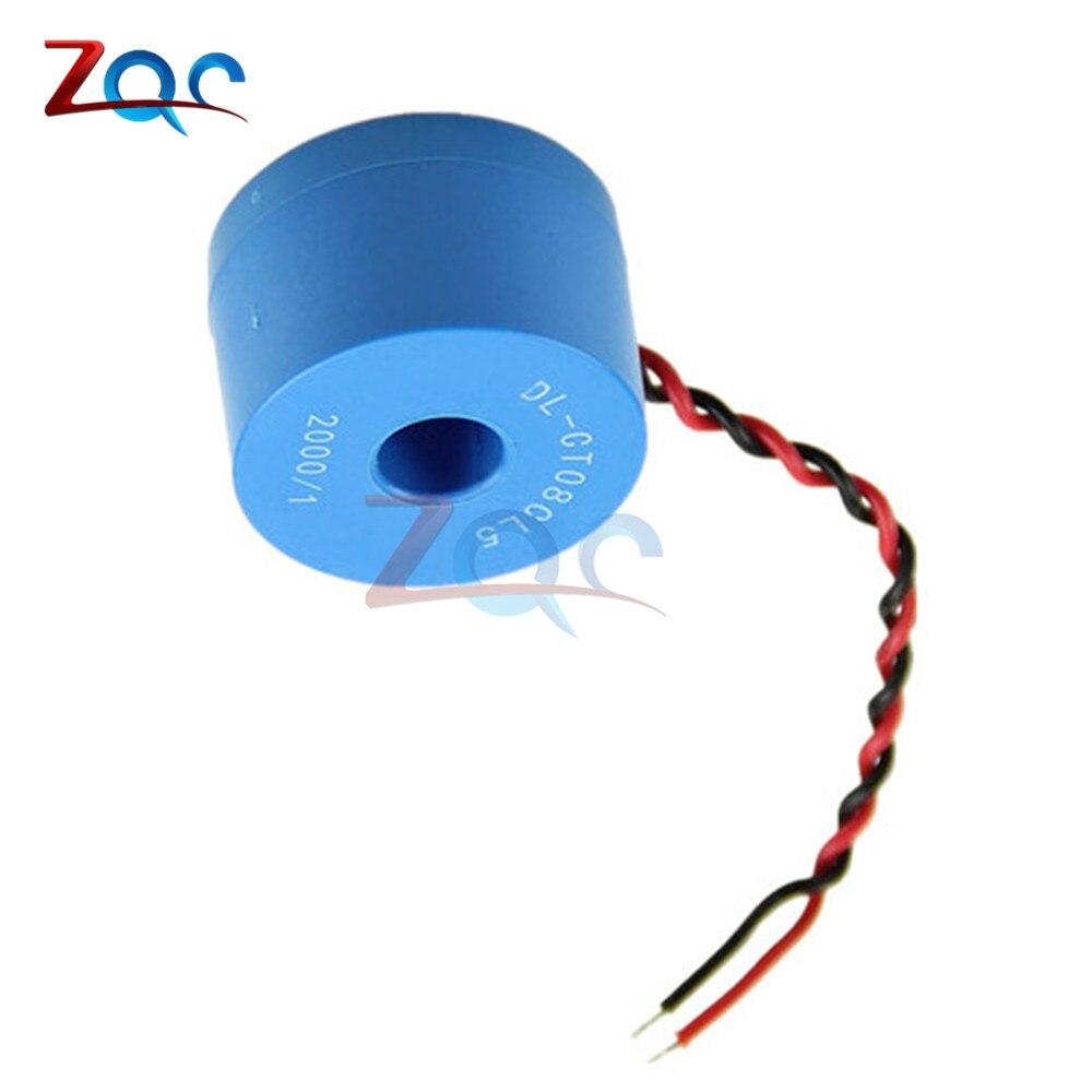 2PCS DL-CT08CL5-20A//10mA 2000//1 0~120A Micro Current Transformer HH