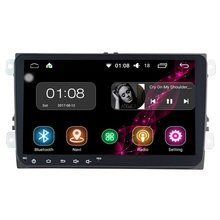 2 Din Car dvd radio Playe 1024*600 9'' 2G+16G Android 6.0 Quad core for Volkswagen VW Golf Tiguan(China)