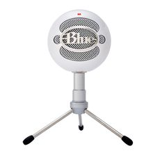 Original Blue Snowball ICE Usb Condenser Microphone for mac Computer for ipod Cardioid with table stand and usb cable