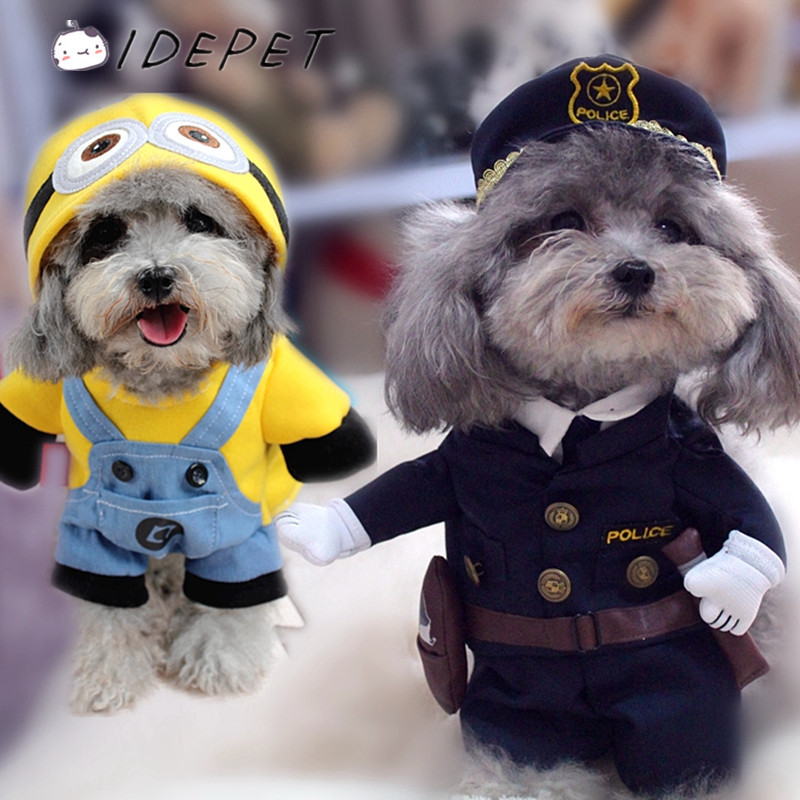 Pet Clothes for Small Dog Coats Funny Dog Costumes Puppy Jackets Cat Hoodies Spring Autumn Warm Outfit Ropa de Cachorro50(China (Mainland))