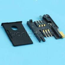 6 PIN GSM 3G SIM Card Sockets Slot for SIM908 SIM900 Module