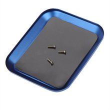 New Aluminium Screw Tray with Magnetic for RC Model Phone Repair(China)