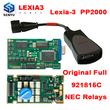 Lexia 3 PP2000 Diagbox 7.83 FW 921815C Full Chip Lexia3 Diagnostic Scanner Tool Lexia-3 PSA XS Evolution OBD OBD2 Scanner(China)