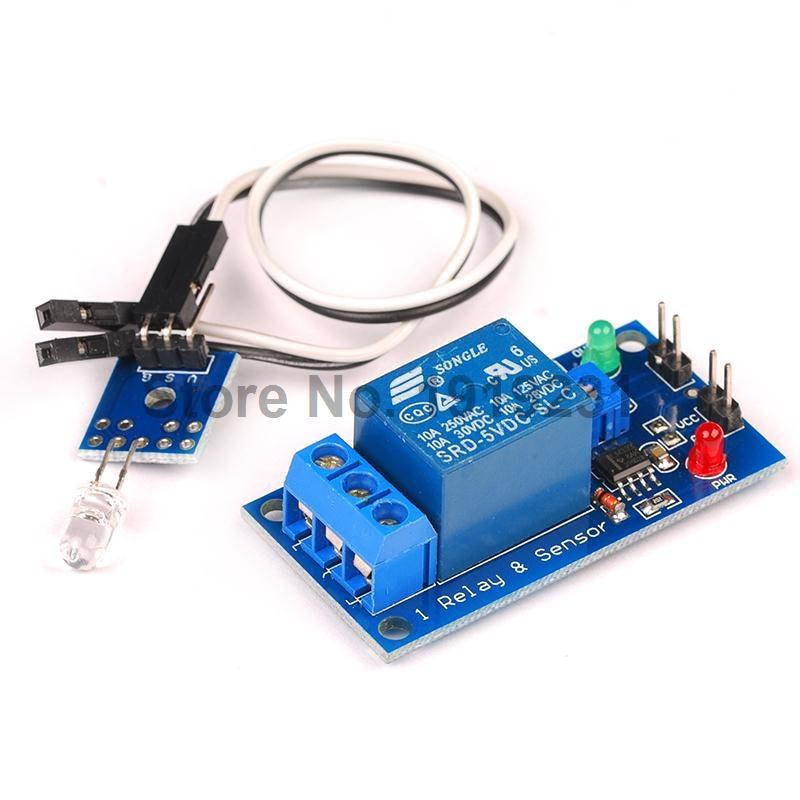 1PCS DC 5V 1 Channel Relay Module Light Detection Photosensitive Diode Sensor Module<br><br>Aliexpress
