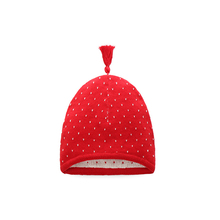 2017 New Arrival  Baby Winter Hat Knitted Cap with Cute Warm wool Inside Red&Gray&Blue Boys Girls Toddler Cartoon Pattern Hat