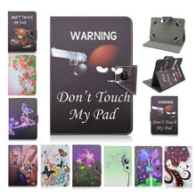 Universal PU Leather Stand Case Cover For 7 inch Android Tablet Cases For PiPO S3 Pro/S1 Pro 7.0 bags w/Screen protector D492A(China)