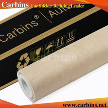 Carbins big pile fabric beige  self adhesive fabric film for car interior decoration Top selling color