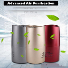 New Home Air Purifier Negative Ion Generator, Air Cleaner UV Lamp Sterilizer Ionizer Ozonizer Anion Activated Carbon Air Filter