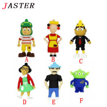 JASTER Cartoon Toy Story USB Flash Drives 1GB 2GB 4GB 8GB 16GB 32GB 64GB Potato Head Memory Stick Flash Disk free shipping
