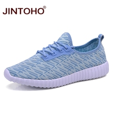 JINTOHO 2017 New Breathable Women Shoes Summer Women Sneakers Lady Sport Shoes Ladies Trainers Sport Running Shoes For Women